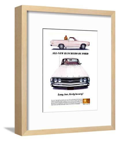 Ford 1968 All-New Ranchero--Framed Art Print