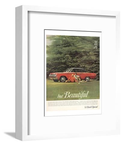 GM Bold New Buick Look for '63--Framed Art Print