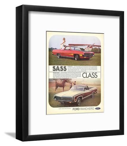 Ford 1971 Ranchero GT - Class--Framed Art Print