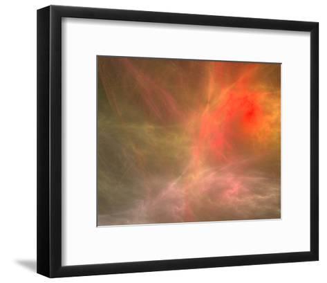 Fractal Cosmic Nebula Canvas--Framed Art Print