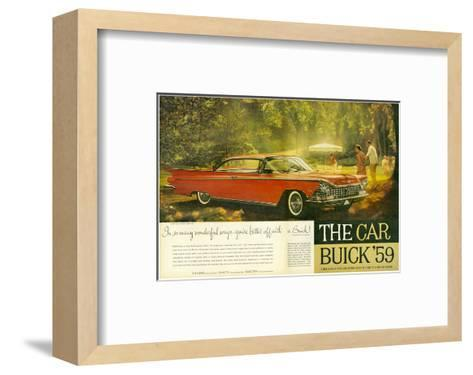 GM -Better Off With a Buick--Framed Art Print