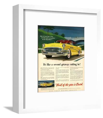 GM Buick-Like a Second Getaway--Framed Art Print