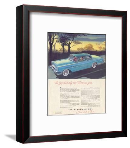 GM Buick - Roadmaster--Framed Art Print