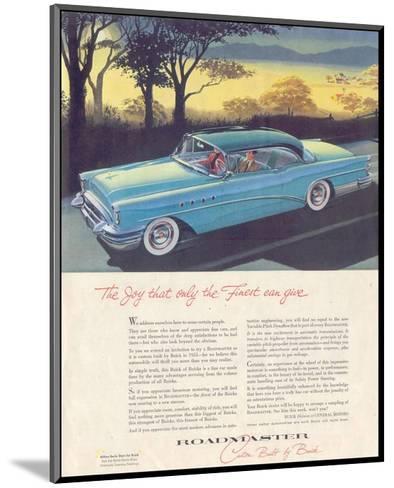 GM Buick - Roadmaster--Mounted Art Print