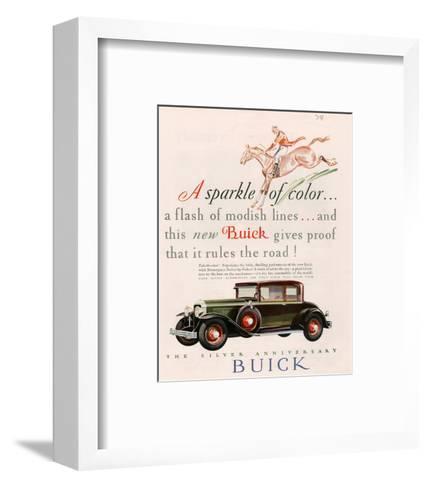 GM Buick - Sparkle of Color--Framed Art Print