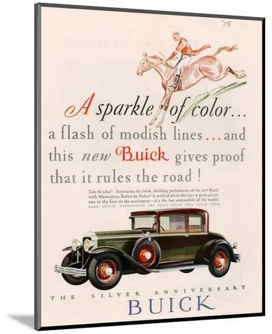 GM Buick - Sparkle of Color--Mounted Art Print