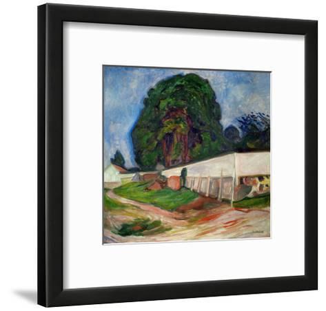 Summer Night, Aasgaard Beach, 1904-Edvard Munch-Framed Art Print