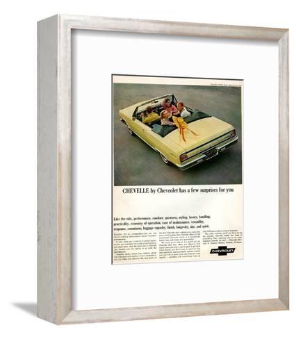 GM Chevy Chevelle Surprises--Framed Art Print