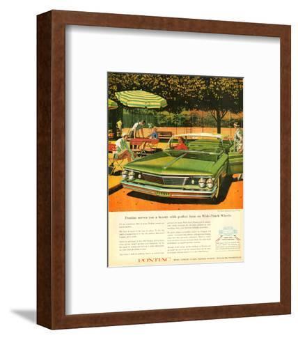 GM Pontiac - Wide Track Wheels--Framed Art Print