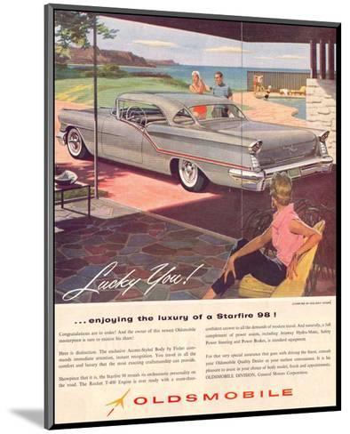 GM Oldsmobile - Starfire 98--Mounted Art Print