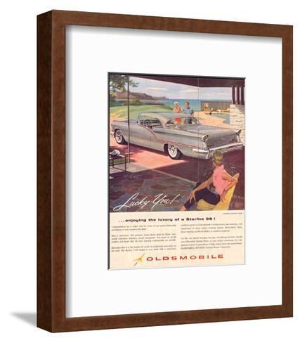 GM Oldsmobile - Starfire 98--Framed Art Print