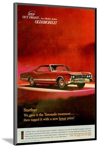 GM Oldsmobile - Step Out Front--Mounted Art Print