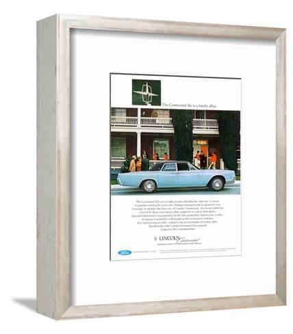 Lincoln 1967 - Family Affair--Framed Art Print