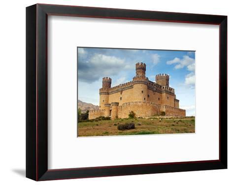 Manzanares Real Castle Spain--Framed Art Print