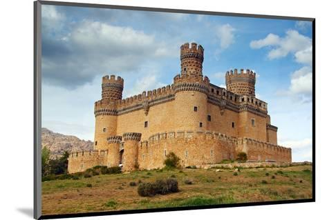 Manzanares Real Castle Spain--Mounted Art Print