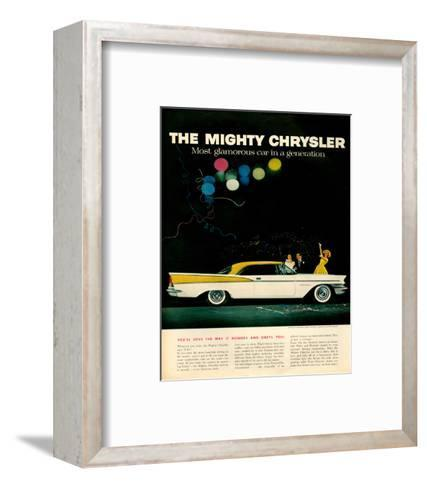 Mighty Chrysler Saratoga--Framed Art Print
