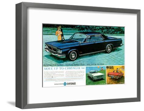 Move Up to Chrysler 1964--Framed Art Print