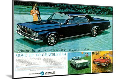 Move Up to Chrysler 1964--Mounted Art Print