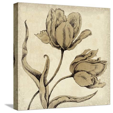 Paper Tulip II-Maria Mendez-Stretched Canvas Print