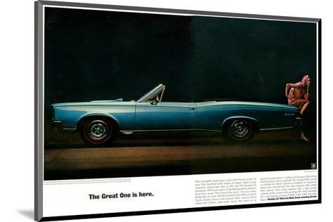 Pontiac-The Great One is Here--Mounted Art Print