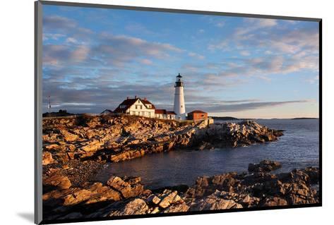 Portland Maine Head Light Dawn--Mounted Art Print