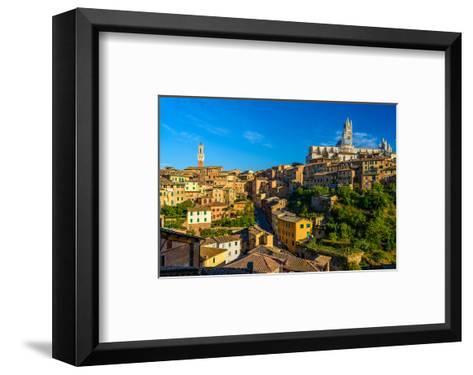 Siena Panorama Tuscany Italy--Framed Art Print