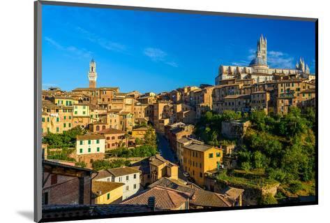 Siena Panorama Tuscany Italy--Mounted Art Print