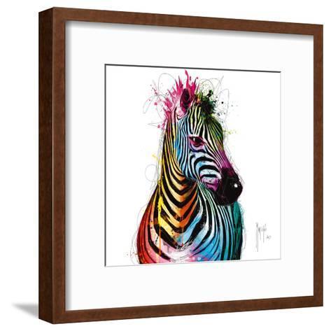 Zebra Pop-Patrice Murciano-Framed Art Print
