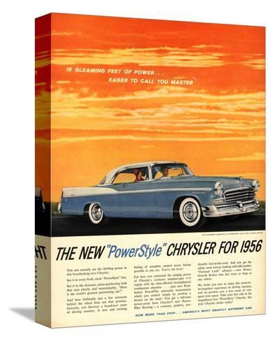 1956 Chrysler Newport--Stretched Canvas Print