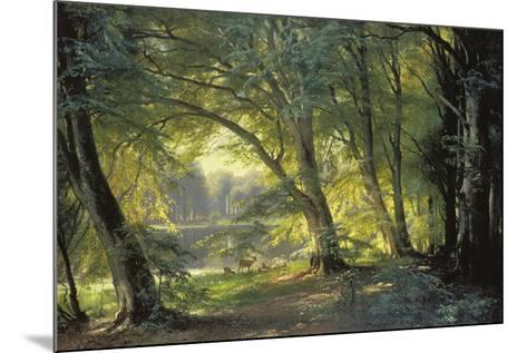 The Deer Park-Carl Frederic Aagaard-Mounted Giclee Print