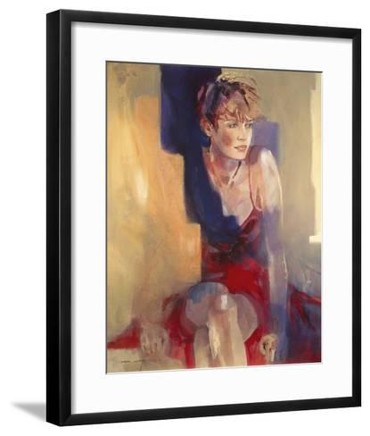 Odalisque I-Christine Comyn-Framed Art Print