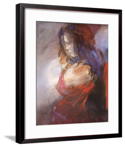 Odalisque II-Christine Comyn-Framed Art Print