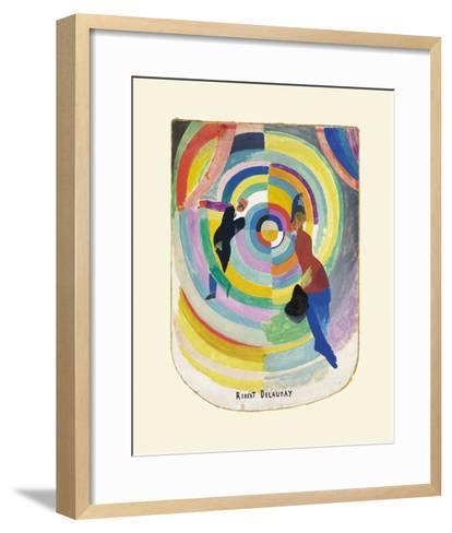 Political Drama, 1914-Robert Delaunay-Framed Art Print