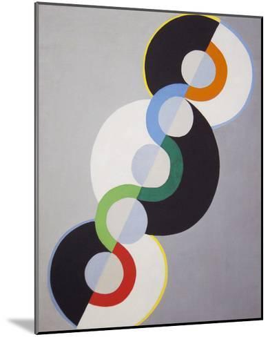 Endless Rhythm, 1934-Robert Delaunay-Mounted Premium Giclee Print