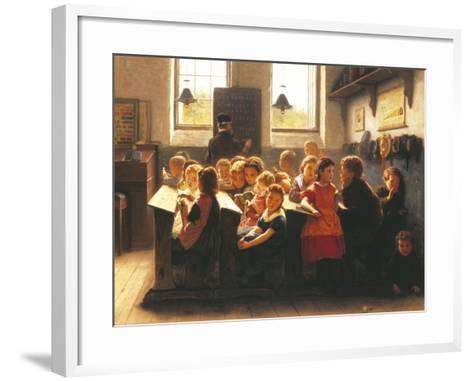 When Teacher's Back Is Turned-Jacob Taanmann-Framed Art Print