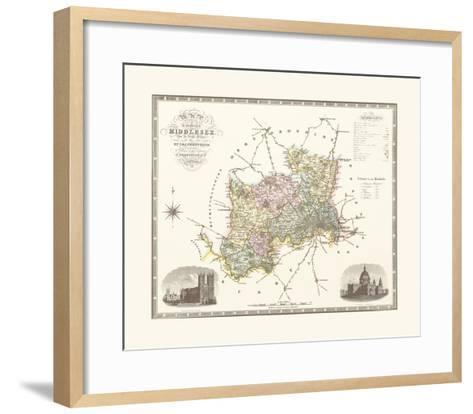 Middlesex-C & J Greenwood-Framed Art Print