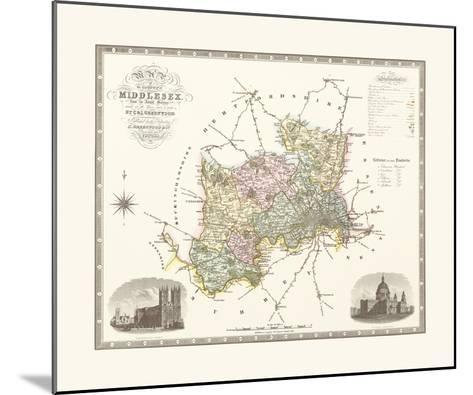 Middlesex-C & J Greenwood-Mounted Premium Giclee Print