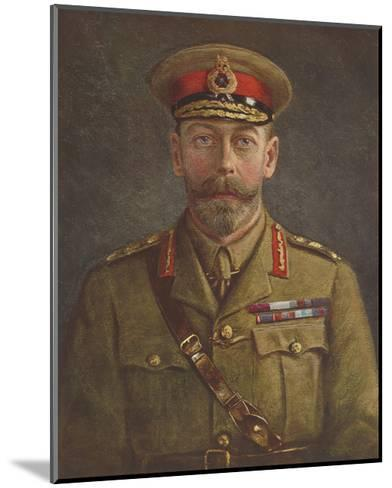 King George V-The Vintage Collection-Mounted Premium Giclee Print