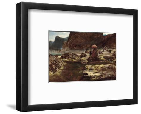 The Sultan and his Camp by the Enchanted Lake, 1888-Albert Goodwin-Framed Art Print