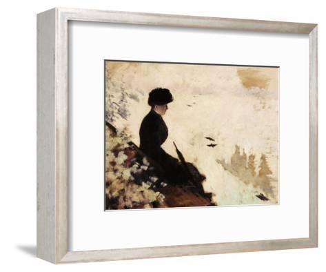 Snow Effect, 1880-Giuseppe De Nittis-Framed Art Print