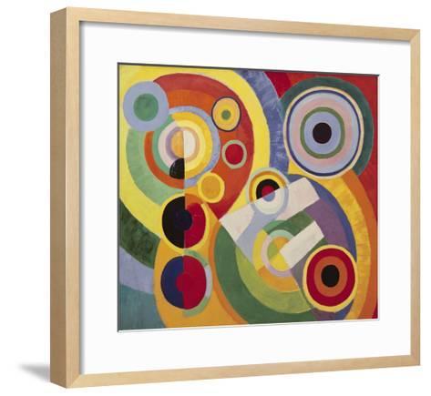 Rythme, Joie de Vivre, 1930-Robert Delaunay-Framed Art Print