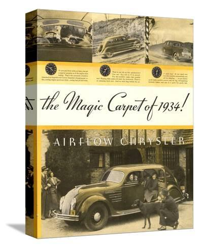 Chrysler Airflow- Magic Carpet--Stretched Canvas Print