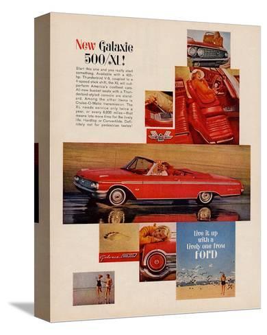 Ford 1962 Galaxie 500/SL--Stretched Canvas Print