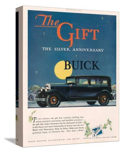 GM - Silver Anniversary Buick--Stretched Canvas Print