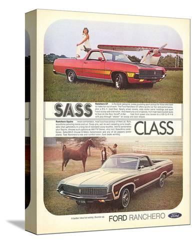 Ford 1971 Ranchero GT - Class--Stretched Canvas Print