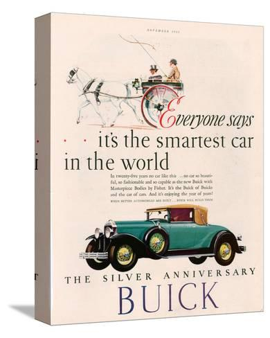 GM Buick - Is the Smartest Car--Stretched Canvas Print