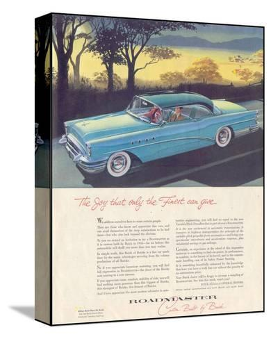 GM Buick - Roadmaster--Stretched Canvas Print