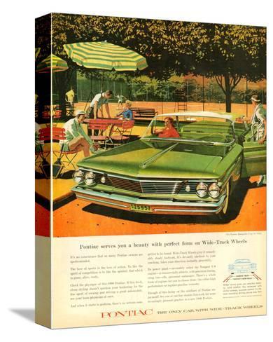 GM Pontiac - Wide Track Wheels--Stretched Canvas Print
