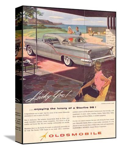 GM Oldsmobile - Starfire 98--Stretched Canvas Print