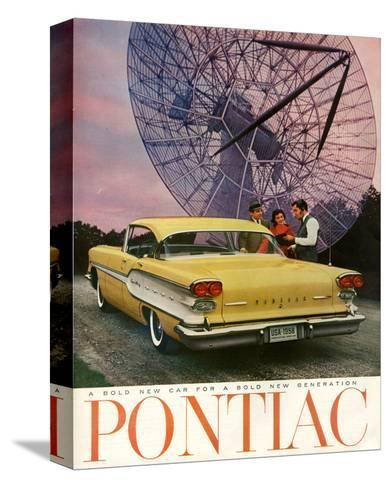 Pontiac-A Bold New Gerneration--Stretched Canvas Print